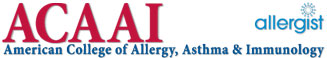 Allergy Crystal Lake - American College of Allergy Asthma and Immunology Logo