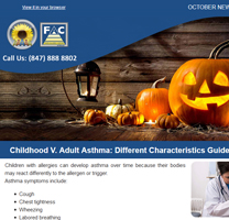 Allergy Specialist Crystal Lake - October 2017 Newsletter