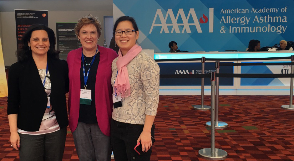 Dr. Askenazi, Nurse Practitioner Ashley Cochran and Dr Eugenia Hahn attended the 2017 The National Allergy Conferenc in Atlanta