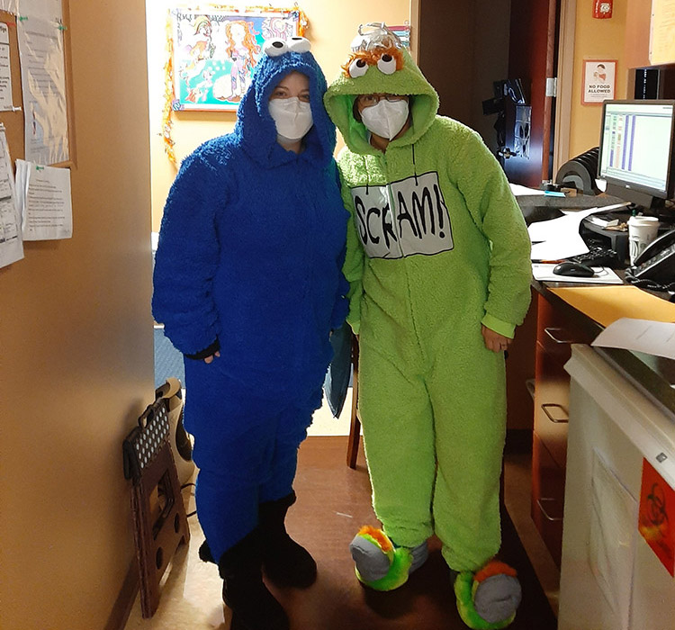 Halloween 2020 2nd image at Advanced Allergy & Asthma