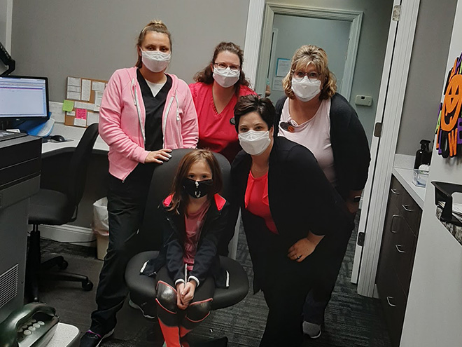 Breast Cancer Awareness at Advanced Allergy And Asthma Associates 1