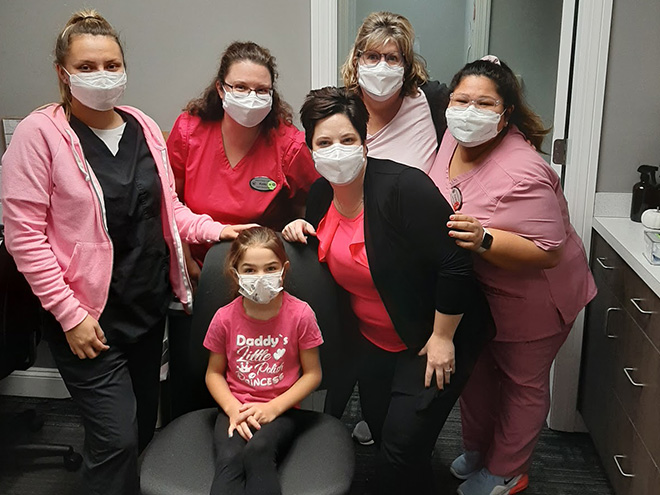 Breast Cancer Awareness at Advanced Allergy And Asthma Associates 2