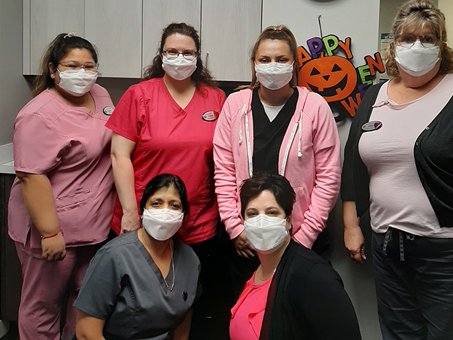 Breast Cancer Awareness at Advanced Allergy And Asthma Associates 3