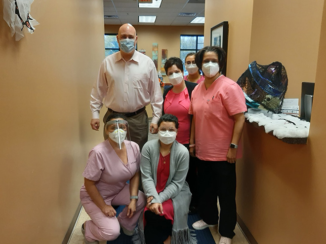 Breast Cancer Awareness at Advanced Allergy And Asthma Associates 5